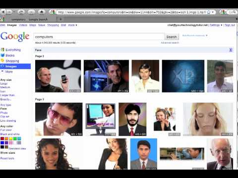 Your Technology Tutor: Google Images Search
