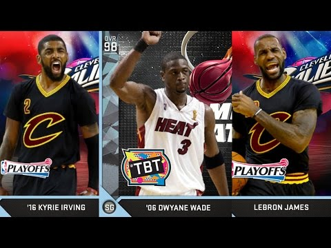 98 OVR Dwyane Wade Diamond Released! NBA 2K16 PS4 My Team