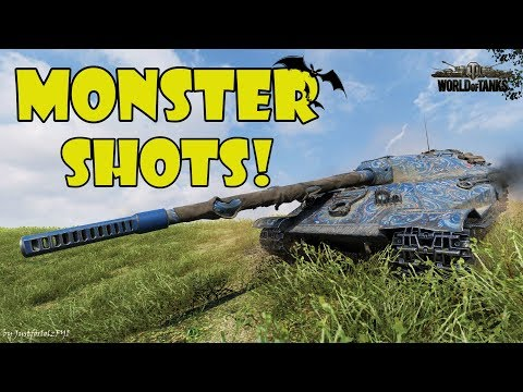 World of Tanks - Funny Moments | MONSTER SHOTS! #6