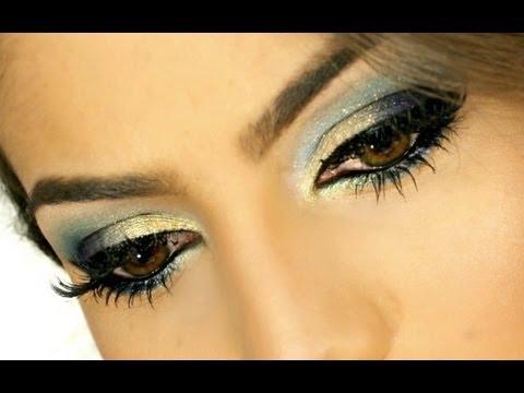 Maquiagem Vibrante usando Azul por Camila Coelho