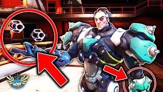 Overwatch | Sigma Abilities BREAKDOWN! Black Hole Gravity Manipulation!?