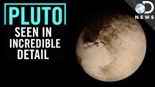 NASA Releases Stunning New Photos Of Pluto