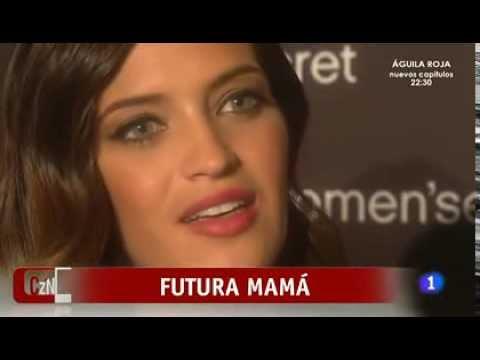Sara Carbonero la novia de Iker Caillas habla sobre su embarazo.