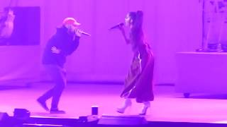 HD Ariana Grande - With MAC MILLER Her exBoyfriend on stage [PARIS] Dangerous Woman Tour - JUNE 2017