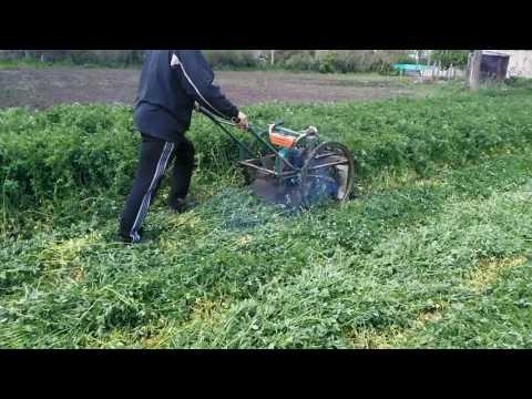 Сенокосилка для высокой травы своими руками 86