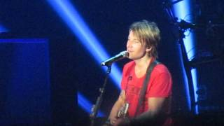 Keith Urban Video - Keith Urban - Making Memories of Us - Calgary - July 12, 2014