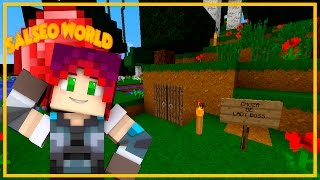 LA CHOZA DE LADY BOSS | Salseo World Ep.2 | Minecraft Lady Boss