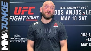 UFC on ESPN+ 10: Zak Cummings full post-fight interview
