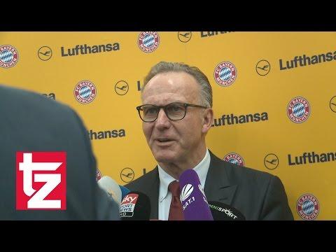 """Hummels zum FC Bayern? Rummenigge: """"Mats befasst sich mit dem FC Bayern"""""""