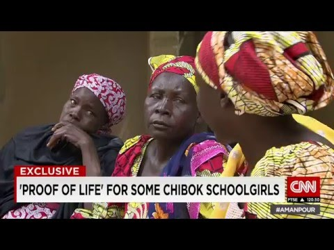 Proof of life for some of kidnapped Chibok schoolgirls