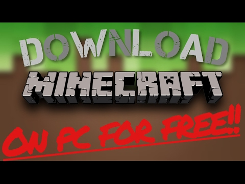 How to Download Minecraft PC For FREE! | WORKING 2017!! | Minecraft Latest Version Download | LEGIT!