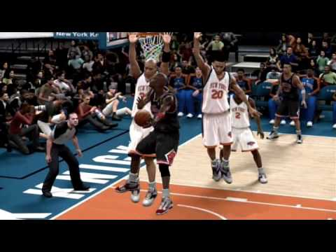 NBA 2K10 Recreations. MJ always thrived when playing in Madison Square Garden. Featured here is Jordan&#039;s First Game at MSG in 1984, The Posterizing Dunk on E...