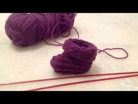 comment tricoter des chaussettes youtube