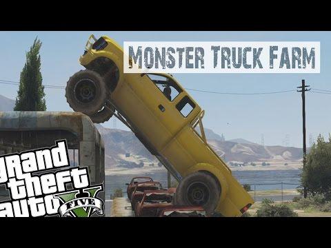 GTA 5 Custom Job Showcase - Monster Truck Farm (Episode 4)