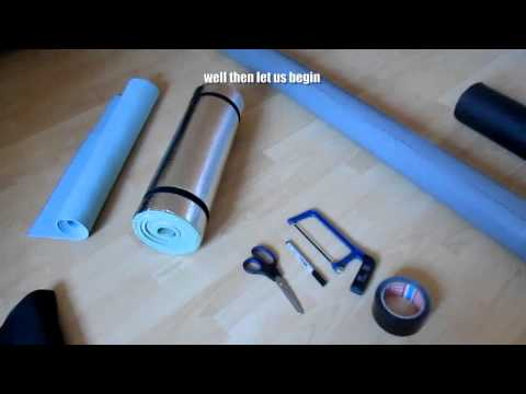 DIY : How To Make A Foam Roller