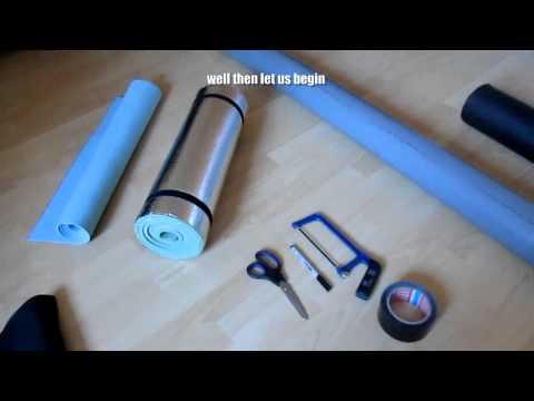 DIY : How To Make A Foam Roller