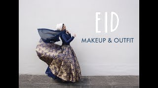 Download EID MAKEUP AND OUTFIT! GRWM 3Gp Mp4
