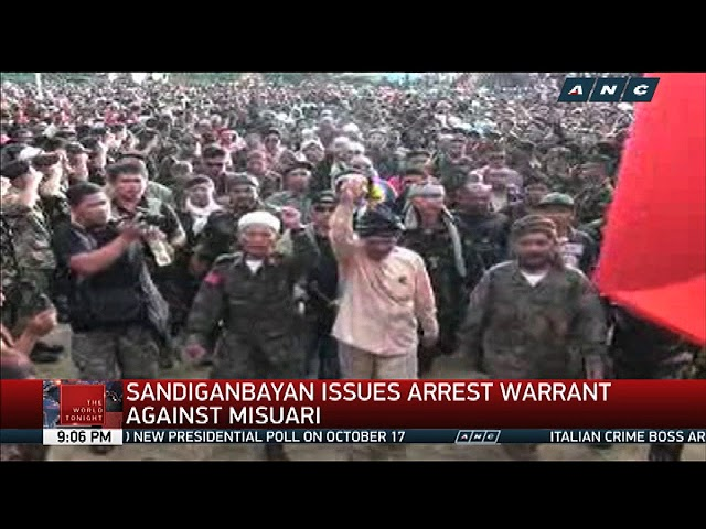 Sandiganbayan issues arrest warrant against Misuari