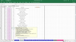 CSF Instructions Example: 1.1.15 Button Cluster - Cost workup sheet type 3.