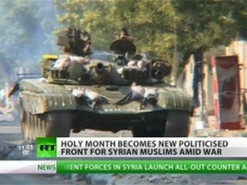 The Fighting Faithful: Jihad ravages Syria as Ramadan begins