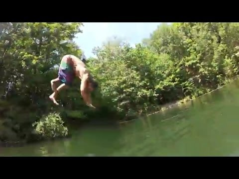 Huge Rope Swing!! klip izle
