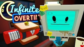 JOB BOT'S LATE NIGHT MELTDOWN - Job Simulator VR (Infinite Overtime) #9
