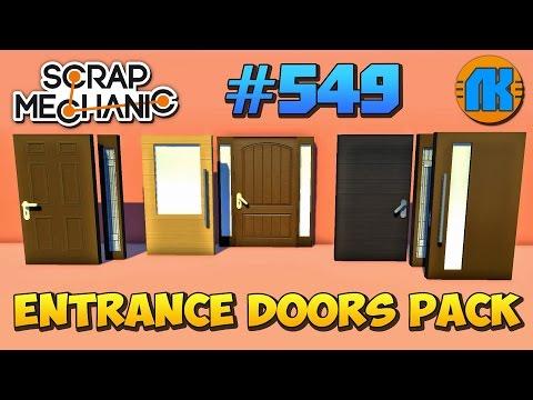 Как сделать в игре скрап механик дверь