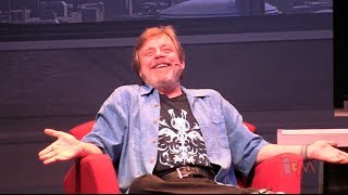 Mark Hamill does Joker and Luke Skywalker voice dialogue at Star Wars Weekends 2014