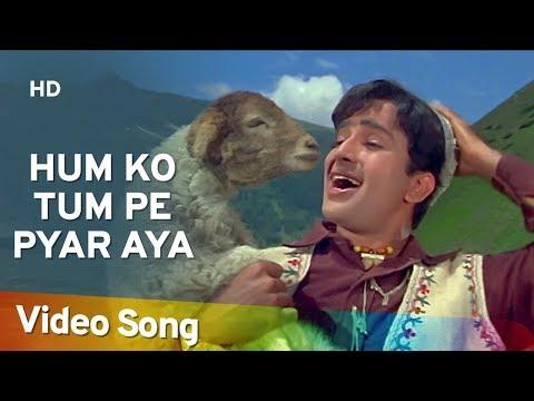 Affo Khudaa Hum Ko Tum Pe Pyar Aya- Shashi Kapoor - Nanda -...