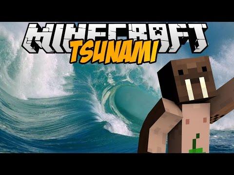 Minecraft mody TSUNAMI MOD TSUNAMI W MINECRAFT