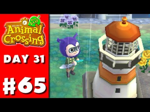 Animal Crossing: New Leaf - Part 65 - Lighthouse (Nintendo 3DS Gameplay Walkthrough Day 31)