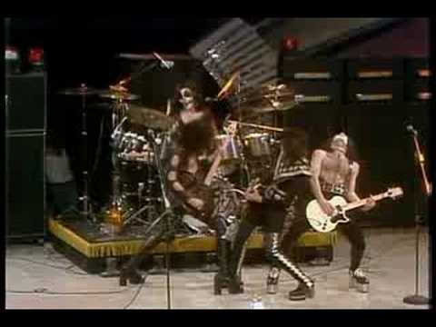 Kiss - Black Diamond - 1975 Promo (high Quality) video