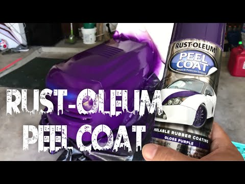 Rust-Oleum Automotive Peel Coat Spray Review