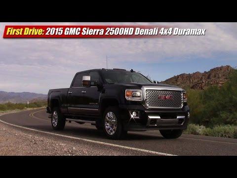 First Drive: 2015 GMC Sierra 2500HD Denali 4x4 Duramax