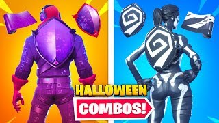 Top 10 CRAZIEST Fortnite Halloween Skin Combos YOU NEED TO TRY!