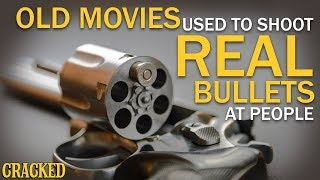 Old Movies Used To Just Shoot Real Bullets At People