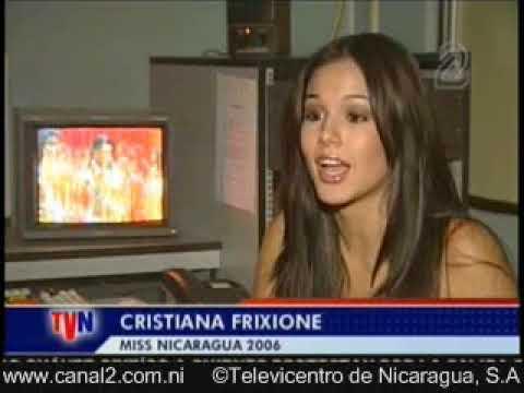 Reportaje sobre Xiomara Blandino; 27 May, 2007