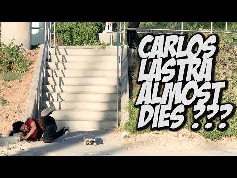 CARLOS LASTRA ALMOST KILLS HIMSELF ???   NKA VIDS