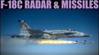 FA-18C Hornet | Early Access | Learning A2A Missiles & Radar | DCS WORLD