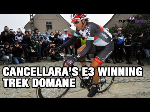 Fabian Cancellara's race winning Trek bike from E3 Harelbeke