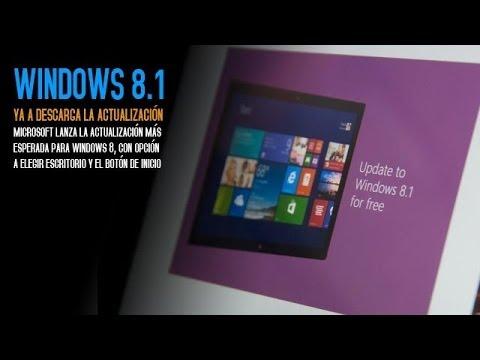 Instala la actualización Windows 8.1 ¿Qué tal la veis?