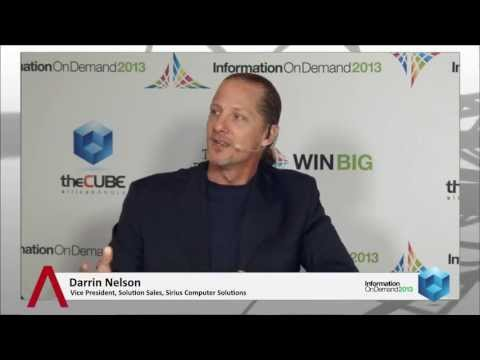 Darrin Nelson - IBM Information on Demand 2013 - theCUBE