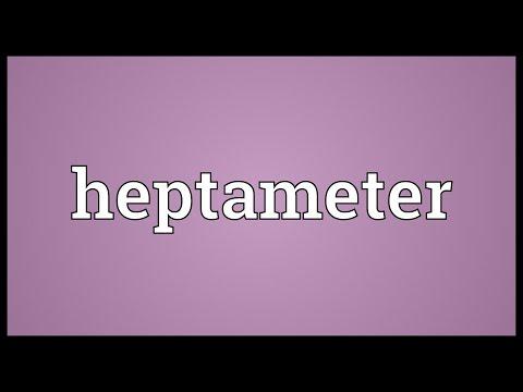 Header of heptameter
