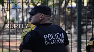 Argentina: Thousands celebrate historic Boca Juniors anniversary in La Bomonera stadium