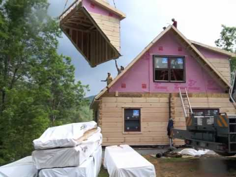 Log Home Build Day: Build-iSode 7, Linville 3