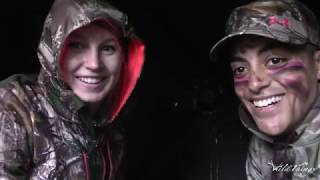 Jess's Archery Amazing Shot - Lady Bowhunter Harvests Her first Deer w/o a Rangefinder