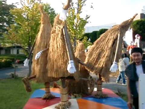 かみのやま温泉全国かかし祭2009