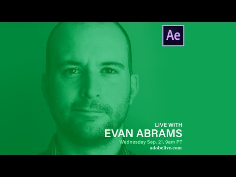 Using details and motion to show depth in After Effects | Motion Design Live Stream
