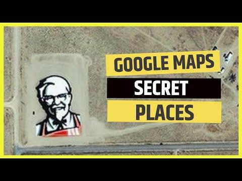 Google Maps Secret Places Youtube