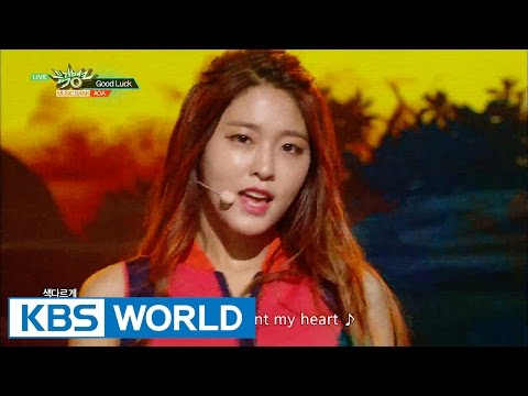 AOA - Good Luck [Music Bank HOT Stage / 2016.05.27]